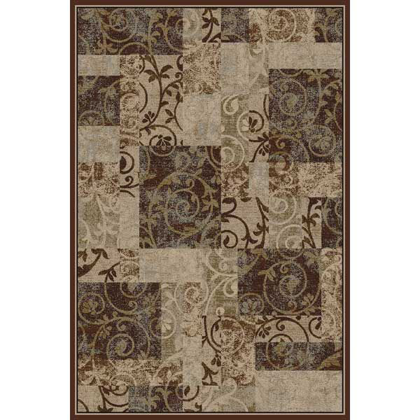 Picture of Entwine Cocoa 5x8 Rug