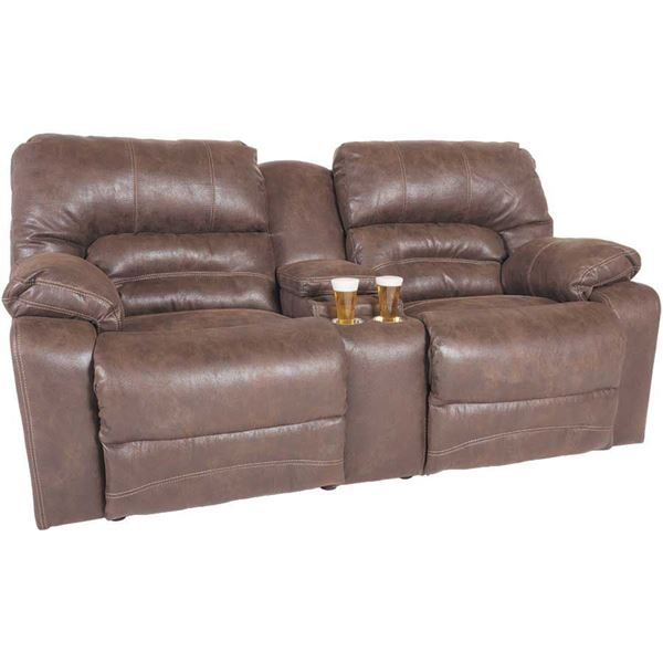 Picture of Legacy Power Reclining Console Loveseat