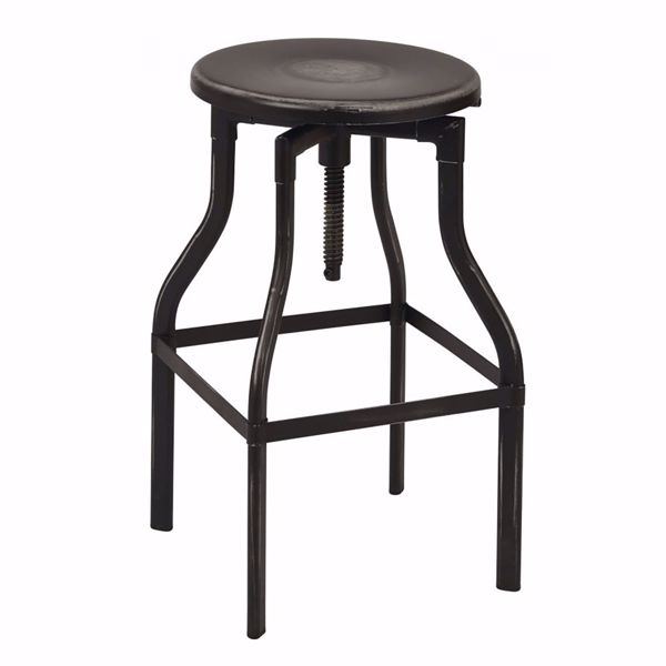 Picture of Eastvale 30-Inch MTL Barstool Antique Black Finish *D