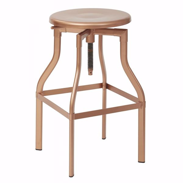 Picture of Eastvale 30-Inch MTL Barstool In Copper Finish *D