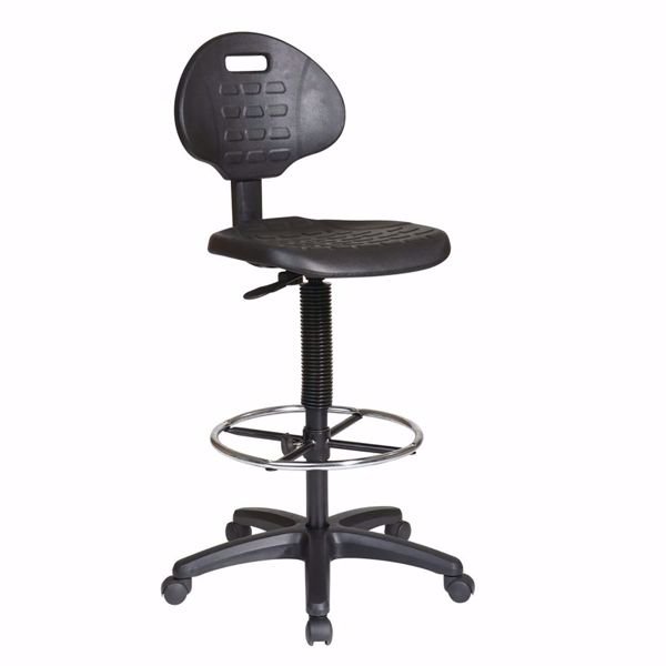 Picture of Black Intermediate Drafting Chair KH550 *D