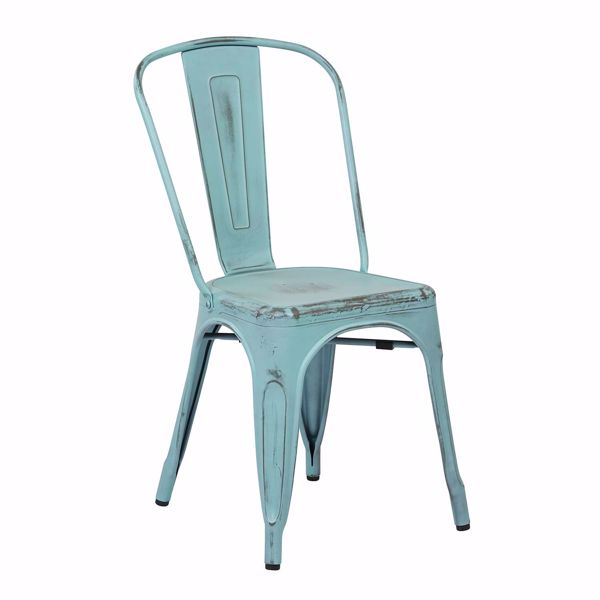 Picture of Bristow Blue Armless Chair, 2-Pack *D