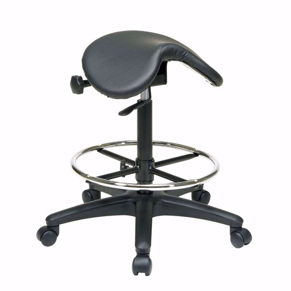 Picture of Backless Saddle Stool *D