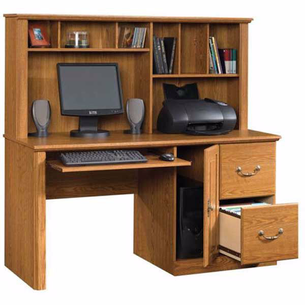 Picture of Orchard Hills Desk With Hutch