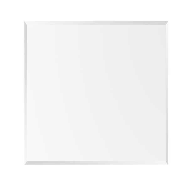 """Picture of 1"""" beveled end table glass top"""