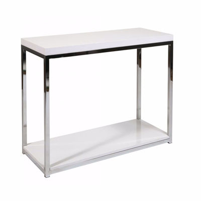 Picture of White Wallstreet Foyer Table *D