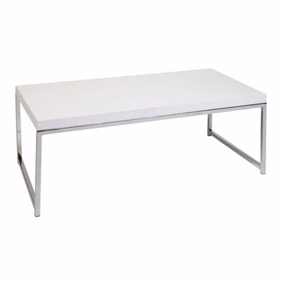 Picture of White Wallstreet Coffee Table *D
