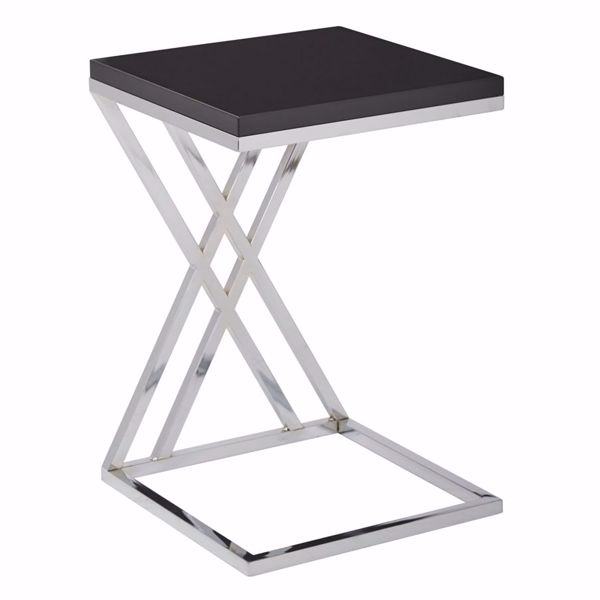 Picture of Wallstreet Black Side Table *D