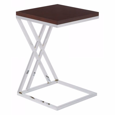 Picture of Wallstreet Espresso Side Table *D