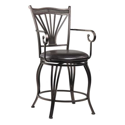 "Picture of Marsala 24"" Swivel Arm Barstool"