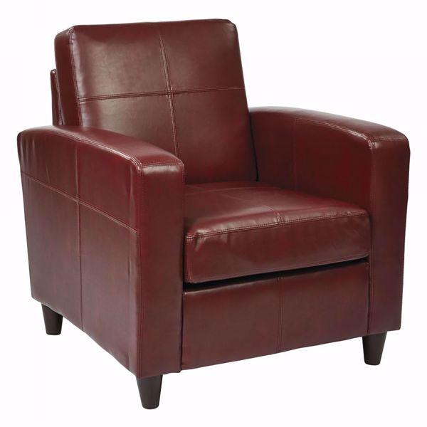 Picture of Venus Crimson Club Chair *D