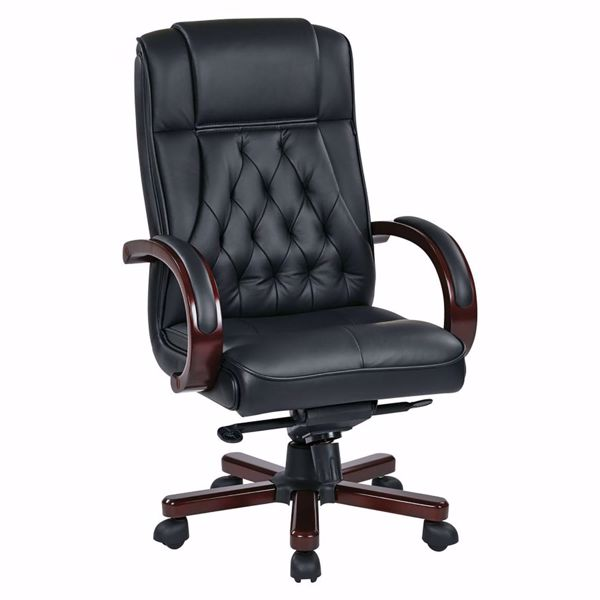 Picture of Leather Office Chair TWN300L-3 *D