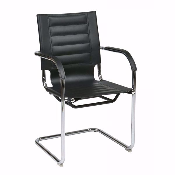 Picture of Black Trinidad Vinyl Office Chair *D