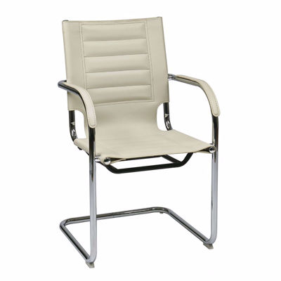 Picture of Cream Trinidad Vinyl Office Chair *D