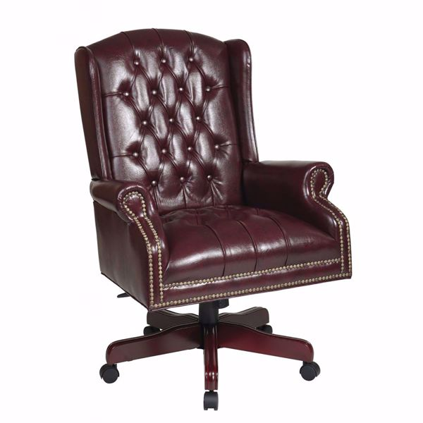 Picture of Brown Traditional Office Chair TEX220-JT4 *D