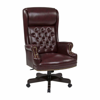 Picture of Brown Traditional Office Chair TEX228-JT4 *D