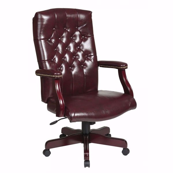 Picture of Brown Traditional Office Chair TEX232-JT4 *D
