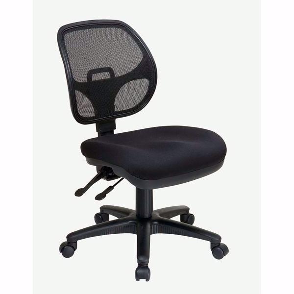 Picture of Black Ergonomic Progrid Off Chair 2902-30 *D