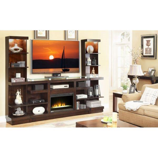 Picture of Novella Fireplace Wall Unit