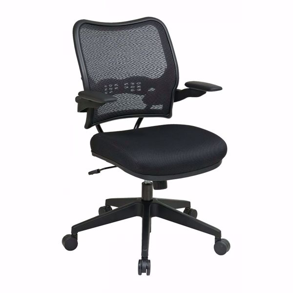 Picture of Black Black AirGrid Office Chair 13-37N1P3 *D