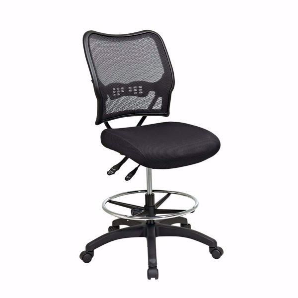 Picture of Ergonomic Black AirGrid Off Chair 13-37N30D *D