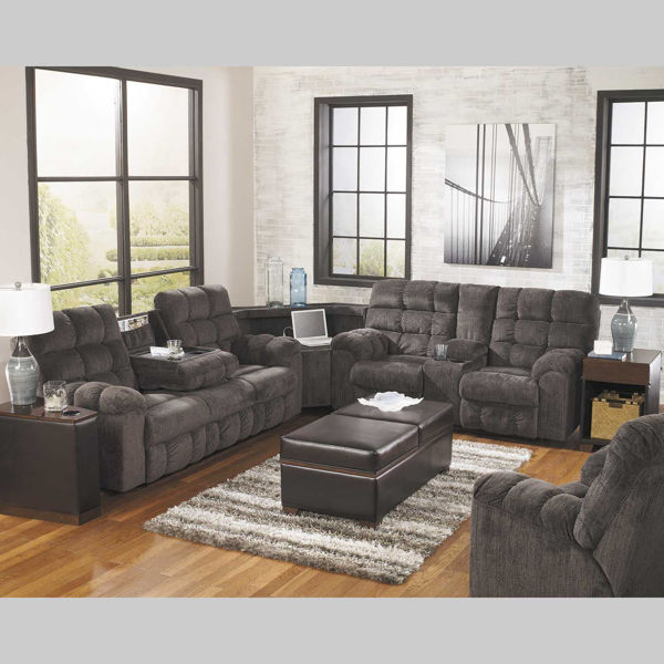 Picture of 3PC Slate Reclining Sectional