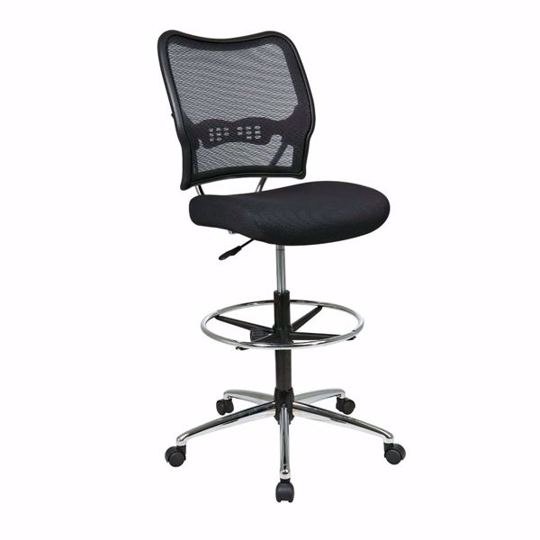 Picture of Black AirGrid Office Chair 13-37P500D *D