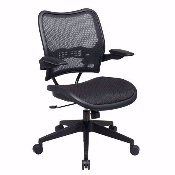 Picture of Black AirGrid Office Chair 13-77N1P3 *D