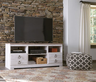 Picture of Willowton TV Stand, Fireplace Optional