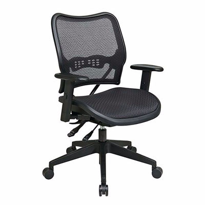Picture of Black AirGrid Office Chair 13-77N9WA *D