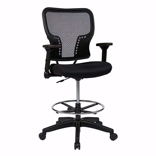 Picture of Black AirGrid Office Chair 213-37N2F3D *D