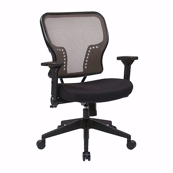 Picture of Latte Black AirGrid Office Chair 213-38N1F3 *D
