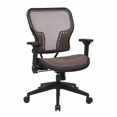Picture of Latte Black AirGrid Office Chair 213-88N1F3 *D