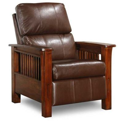 Picture of Santa Fe Bark High Leg Recliner