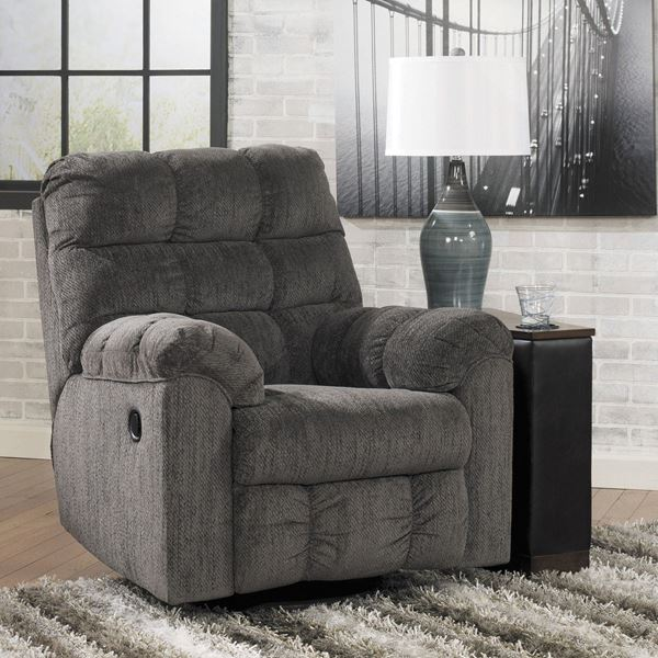 Picture of Slate Swivel Rocker Recliner