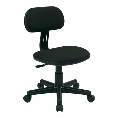 Picture of Black Fabric Office Chair 499-3 *D