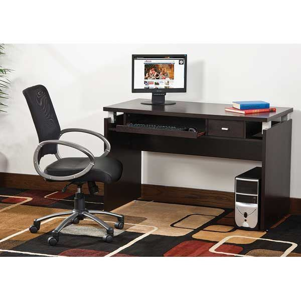 Picture of Red Cocoa Computer Desk