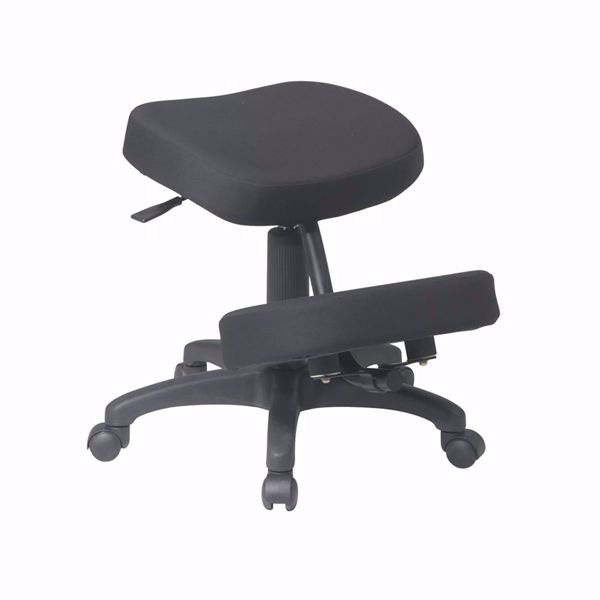 Picture of Black Ergonomic Knee Chair KCM1425 *D