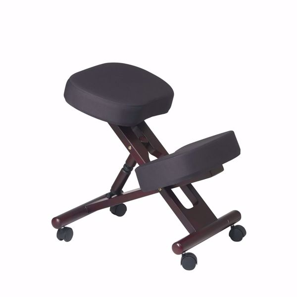 Picture of Black Ergonomic Knee Chair KCW773 *D
