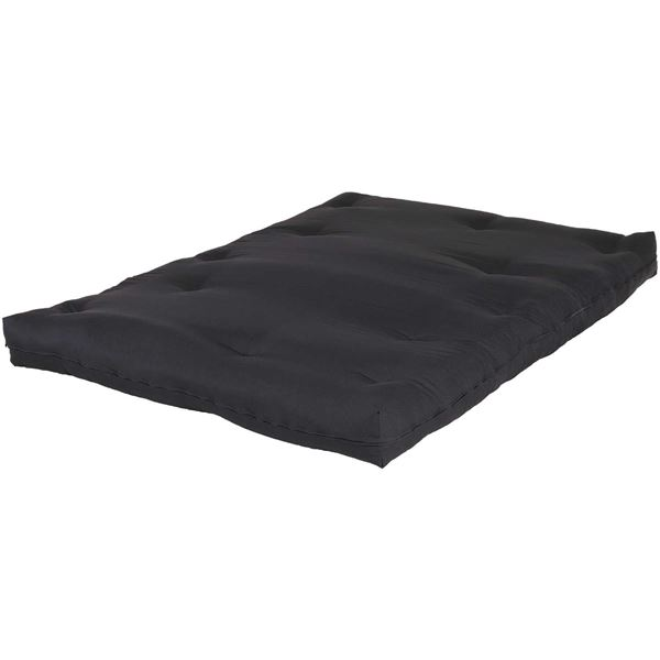 "Picture of 6"" Black Futon Mattress"