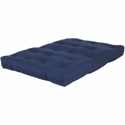 "Picture of 8"" Navy Futon Mattress"