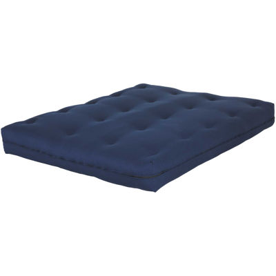 """Picture of 8"""" Navy Deluxe Innerspring Mattress"""