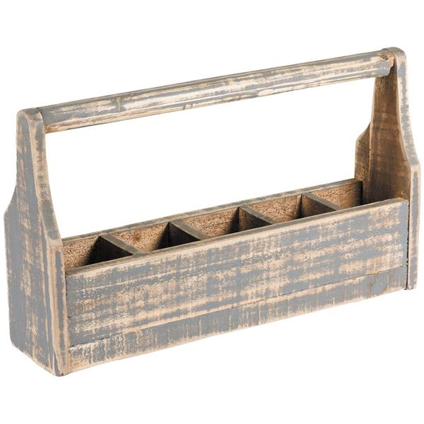 Picture of Compartment Box With Handle - Gray