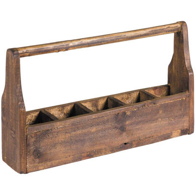 Picture of Compartment Box with Handle Wax
