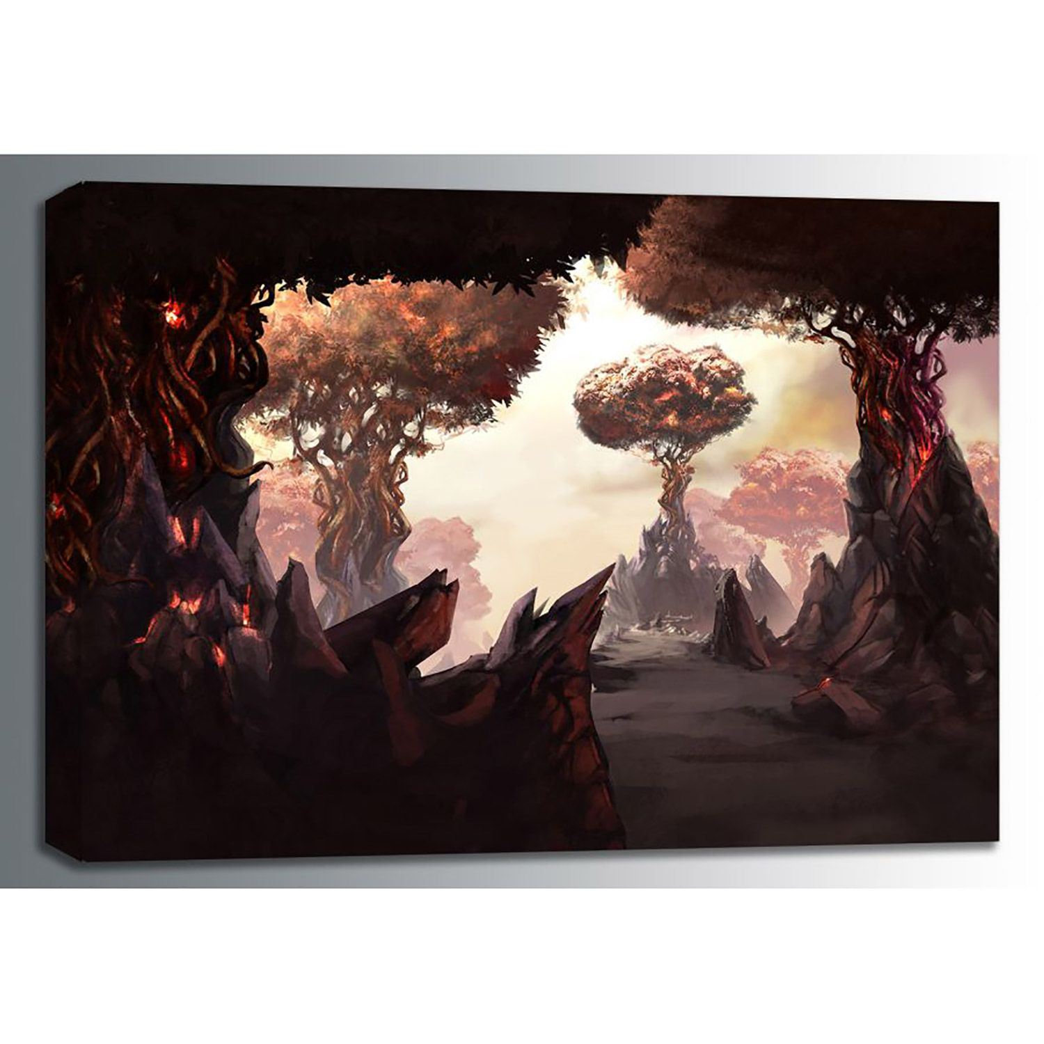 Picture of Fire Forest 24x16 *D