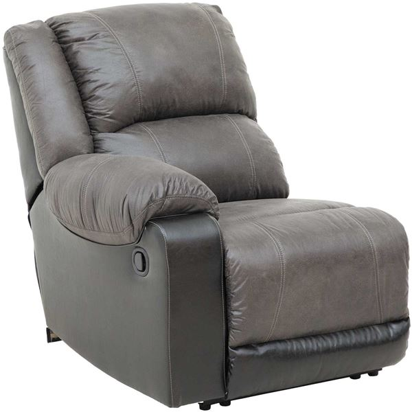 Picture of 2Tone Slate LAF Recliner