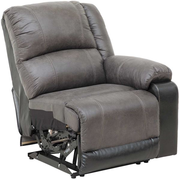 Picture of 2Tone Slate RAF Recliner
