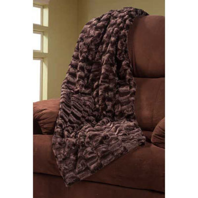 Picture of 47x59 Blanket Brown Faux Fur *P