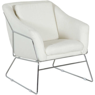Picture of Zeke Cream Accent Chair