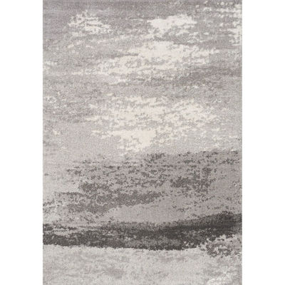 Picture of Focus Organic Grey Cream 5x8 Rug